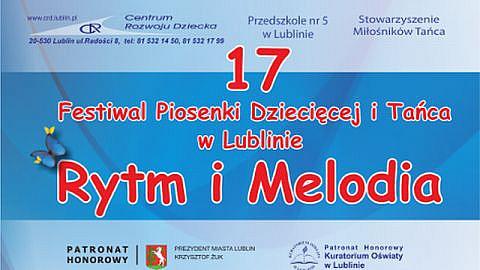 """fot. XVII Festiwalu """"Rytm i Melodia"""" w Lublinie - również online"""