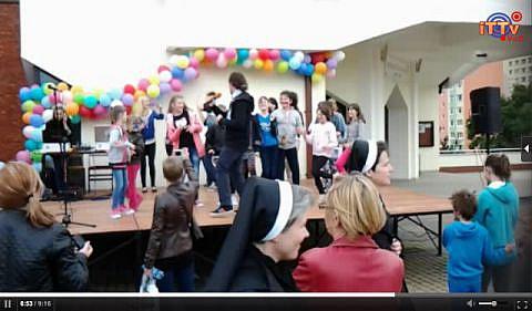 fot. XII Dziecięcy Dzień Radości w Parafii Dobrego Pasterza w Lublinie
