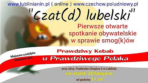 fot. Czat(d) lubelski – w sprawie smog(k)ów